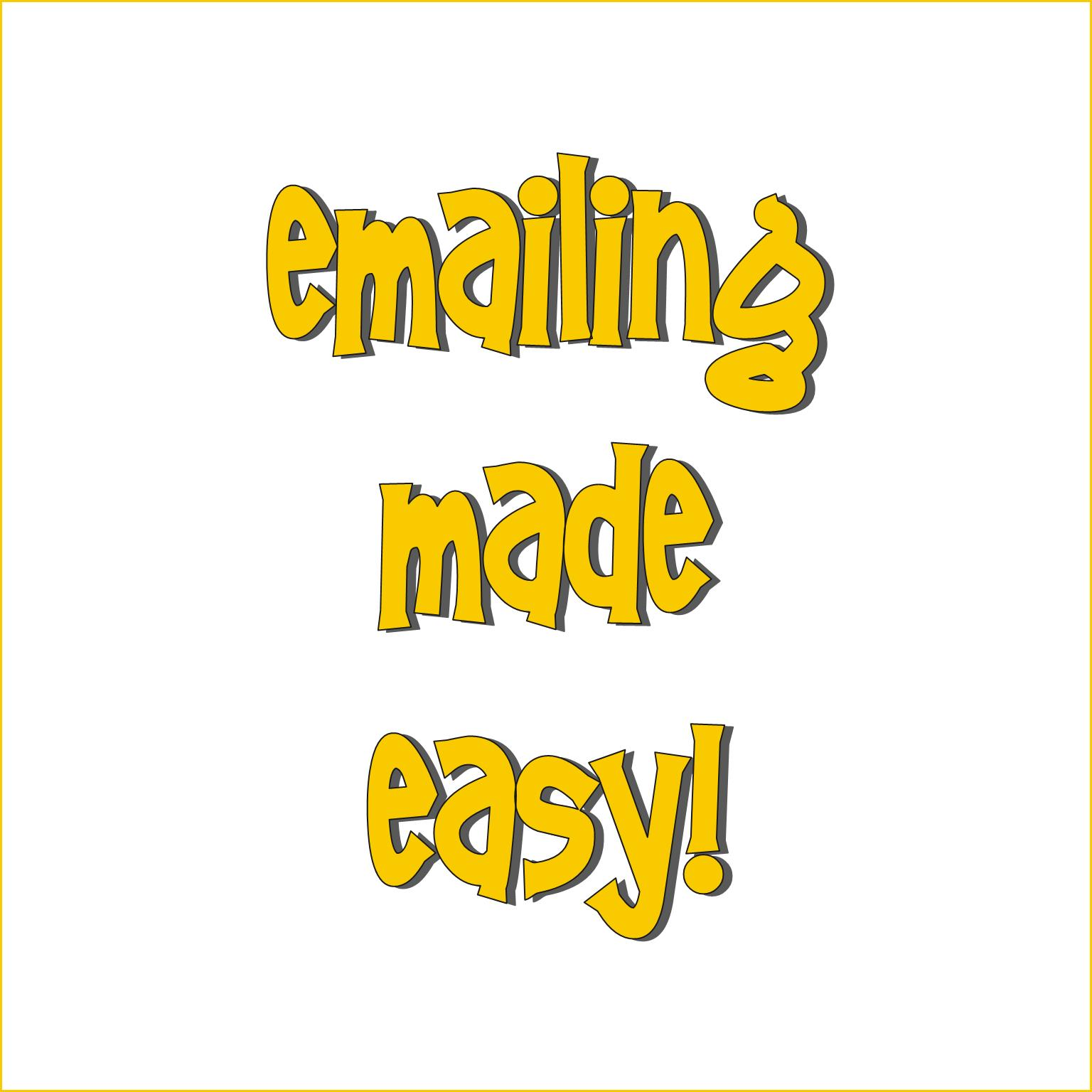 Emailing Made Easy