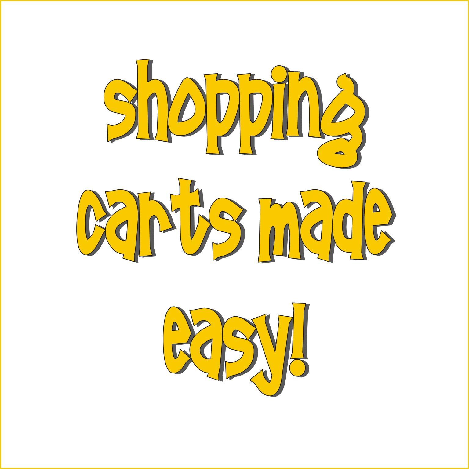 Shopping Carts Made Easy!