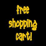 free shopping cart button